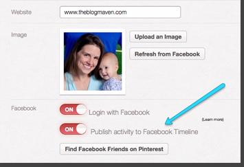 Optimize your Pinterest Profile | theblogmaven.com