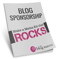Media Kit Guide from The Blog Maven