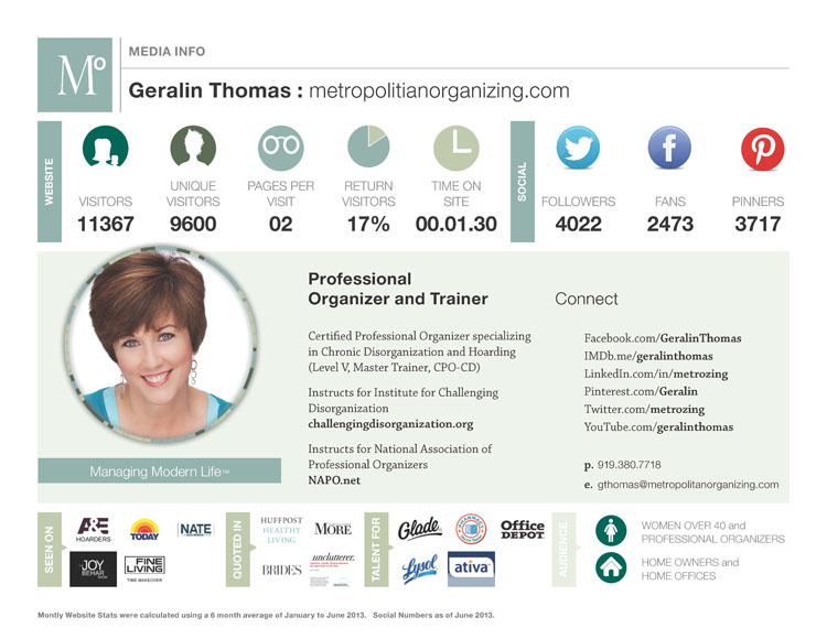 Blog Media Kit Example Metropolitan Organizing