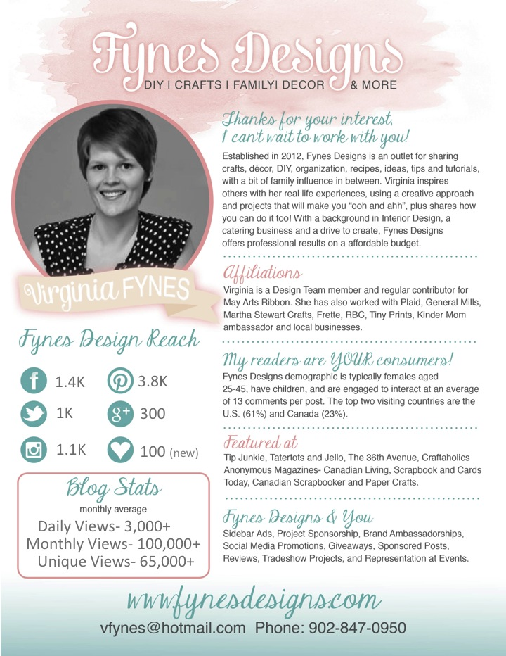 20 example blog mediapress kits for your inspiration blog media kit example fynes designs maxwellsz