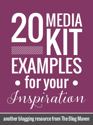 20 Example Blog Media/Press Kits for Your Inspiration