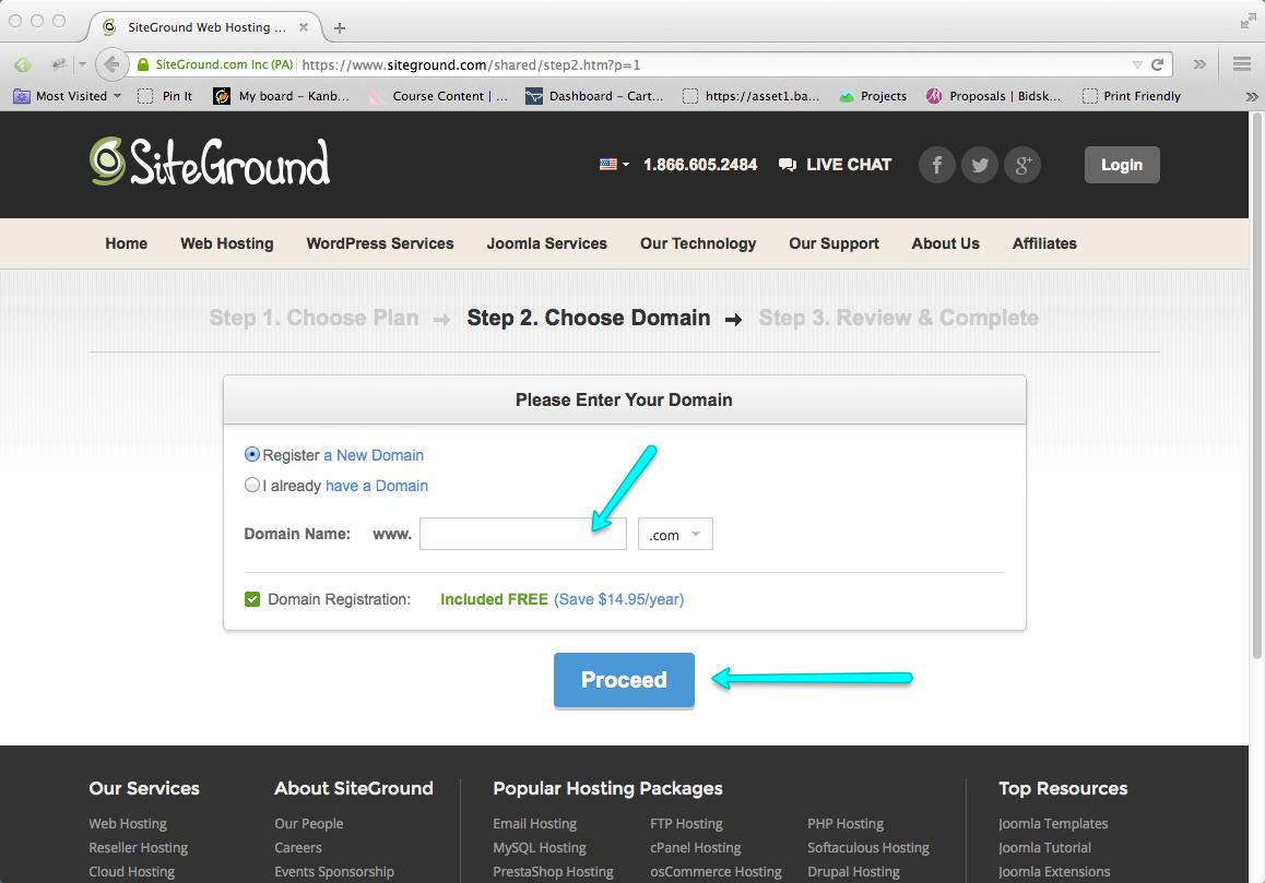 Start a Blog Step 03: Buy Blog Domain Name