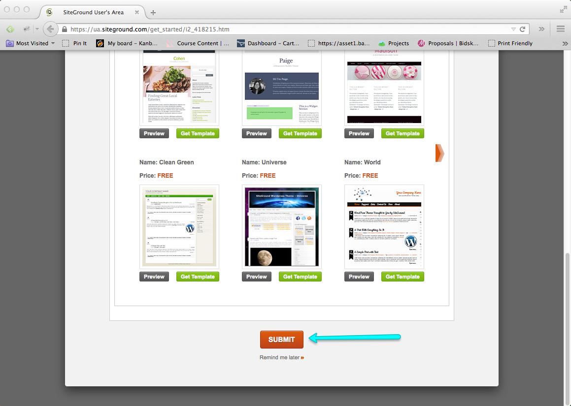 Start a Blog Step 09: Finish WordPress Blog Installation