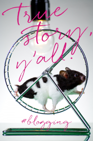 When success feels like slavery...welcome to the blogging rat race.