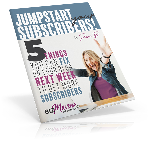 Jumpstart Your Subscribers Guide from Biz Mavens