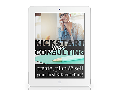 Kickstart Your Consulting Workshop