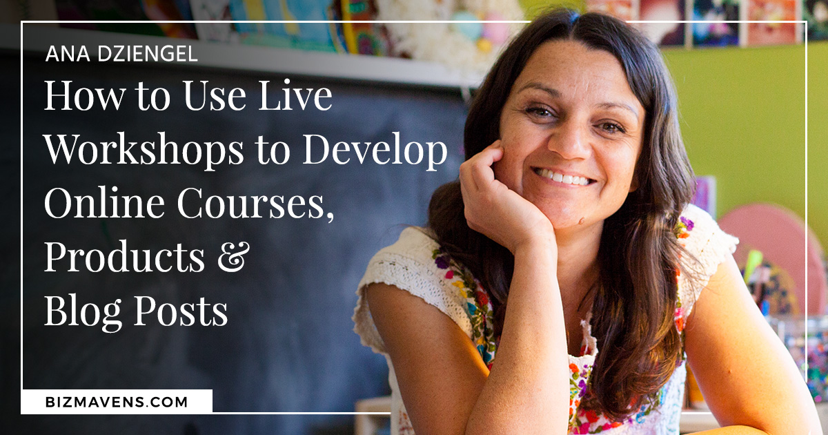 create online courses with live workshops