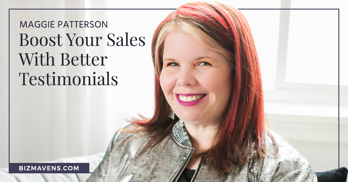 Get better online course testimonials, with Maggie Patterson