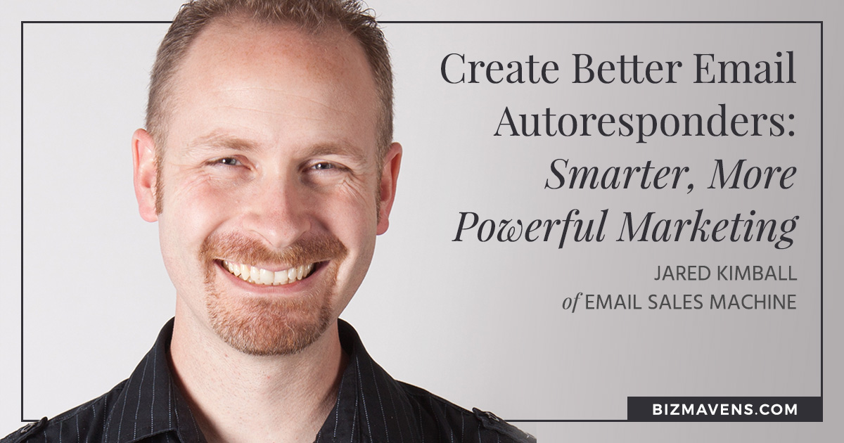 market an online course with email: Jared Kimball
